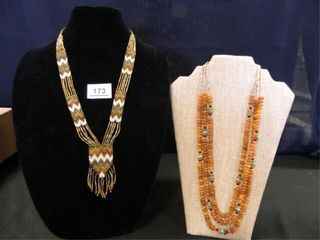 Native American Beaded Necklaces