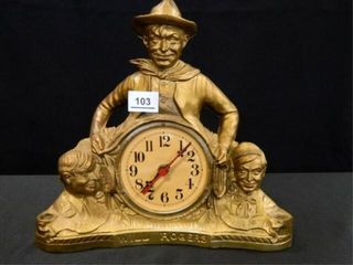 Will Rogers Clock   lamp