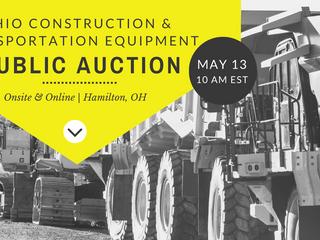 Ohio Construction & Transportation Equipment Public Auction