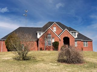 SELLING ABSOLUTE - BEAUTIFUL BRICK HILLTOP HOME ON 4.6 +/- ACRES