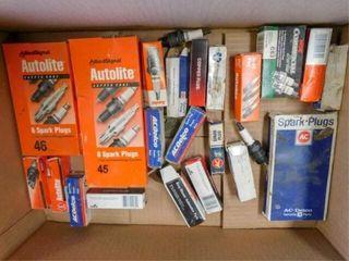 box of spark plugs