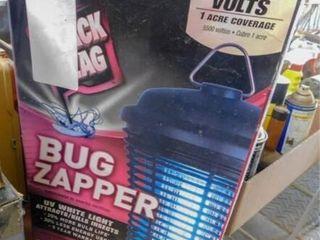 Black Flag bug zapper in box