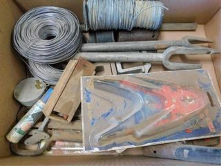 box of wire and braker tools
