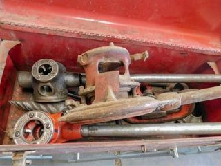 Ridgid pipe threaders and Ridgid pipe cutter