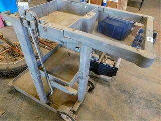 plastic roller cart