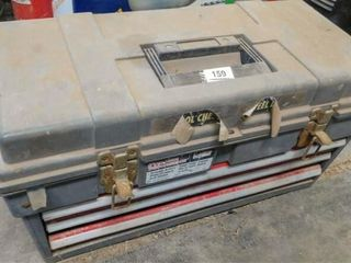 plastic tool box with drawers  fuses