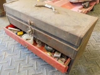 Craftsman tool box with misc small items