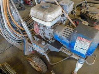 CM 7000 gas powered air less paint sprayer with ho