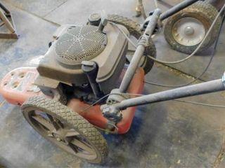 DR gas Trimmer Mower  6 0   pulls through