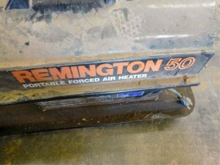 Remington 50 portable space heater  works