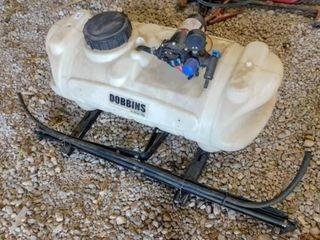 Dobbins 15 gallon sprayer with Remco pump  good