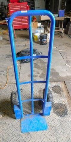 Blue 2 wheel dolly