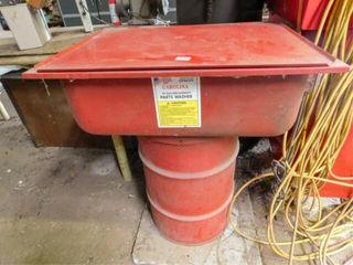 Carolina 30 gallon parts washer  never used