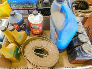 box of oil treatment  brake fluid