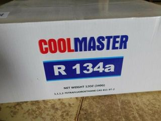Cool Master R 134a Refrigerant Case of 12