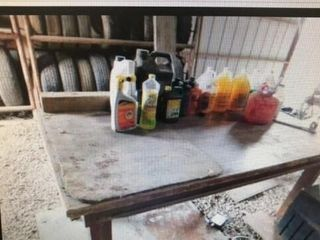 Wood Table w degreaser   Other
