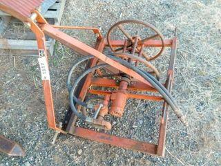 3pt  Hyd wire roller