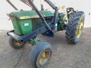 1967 JD 2510 tractor  Koyker 500 ldr  bucket