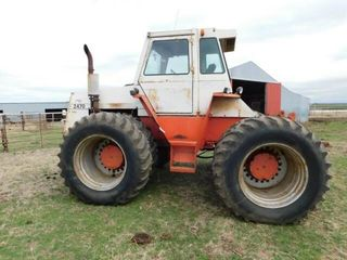 Case 2470 4x4 tractor
