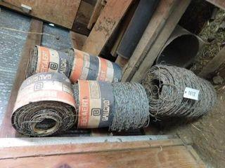 8 rolls of Bekaert barb wire