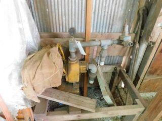 older transfer pump  been stored in barn