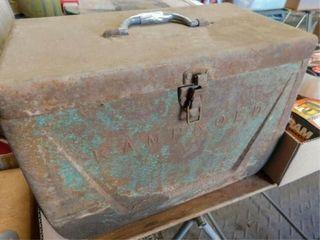 old Kamp Kold metal lined box