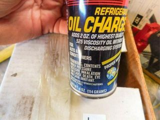 case of Sercon Refrigerant oil charge 11 cans