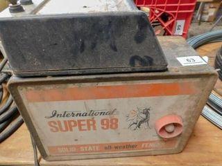 International Super 98 electric fencer