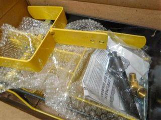 Steel hose reel  new in box