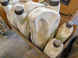 Box of GTX Castrol oil