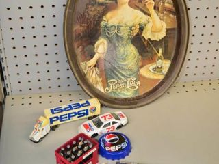 Pepsi Tray and Collectables