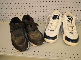 Reebok Size 12 and Athletic Works Size 13 Shoes