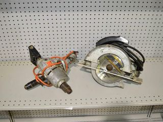 Black and Decker Elec  Drill and Circular Saw