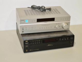 Sony Stereo and JVC 5 Disc CD
