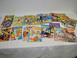 Assorted Marvell and DC Comics