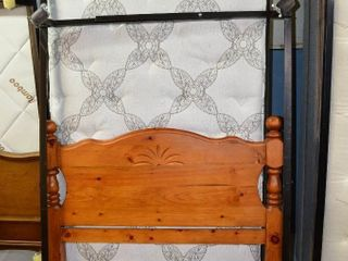 Twin Bed Mattress and Box Spring  Frame