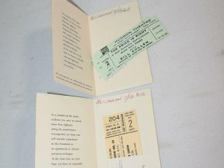 Unused Tickets 1957 The Price is Right   Garry Moo