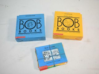 3  Sets of Bob Books for Beginning Readers