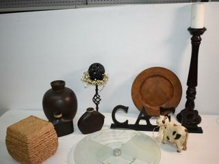 Home Decor and Glass lazy Susan
