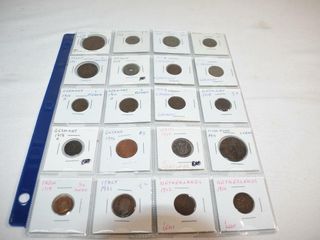 20 100  Yr Old World Coins
