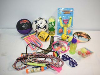 Assortment of Kid s Outdoor Play Items