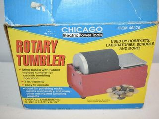Chicago Electric Heavy Duty Rock Tumbler