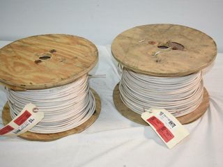 2  Spools Insulated Wire  10