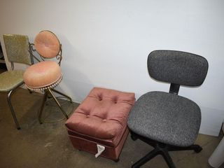 Chairs and Ottoman