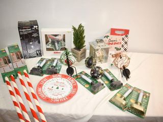 large lot of New Christmas Items