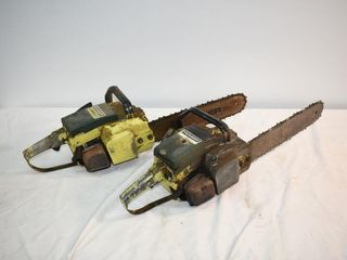 2  Pioneer Chainsaws