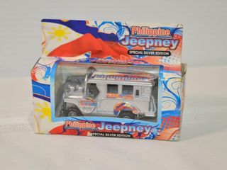 Philippine Jeepney Special Silver Edition Bus