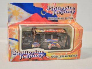 Philippine Jeepney Special Bronze Edition Bus