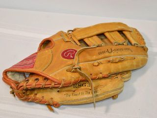 Rawlings leather Right Ball Glove