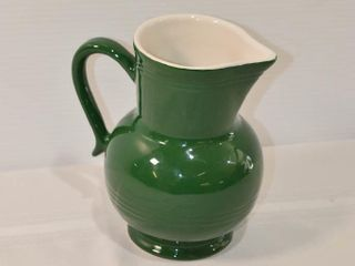 Emile Henry France Pitcher 7 5  Tall